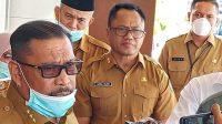 Gubernur Maluku, Murad Ismail bersama Sekda Maluku Kasrul Selang