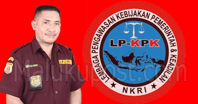 Ketua LP KPK Cabang Kabupaten Kepulauan Tanimbar (KKT), Jonias. W. Solmeda
