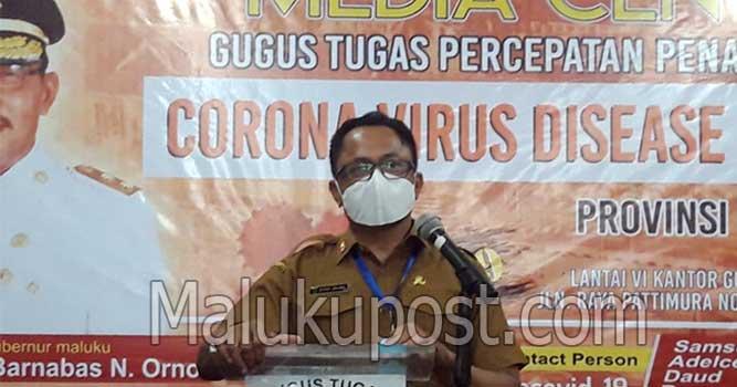 Ketua Harian Penanganan dan Pencegahan Covid-19 Provinsi Maluku, Kasrul Selang
