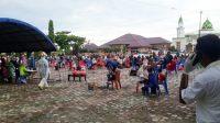 Suasana di salah satu Lokasi Karantina di Kota TualKo