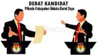 debat kandidat Pilkada MBD