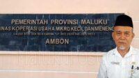 Kadis Koperasi UMKM Provinsi Maluku