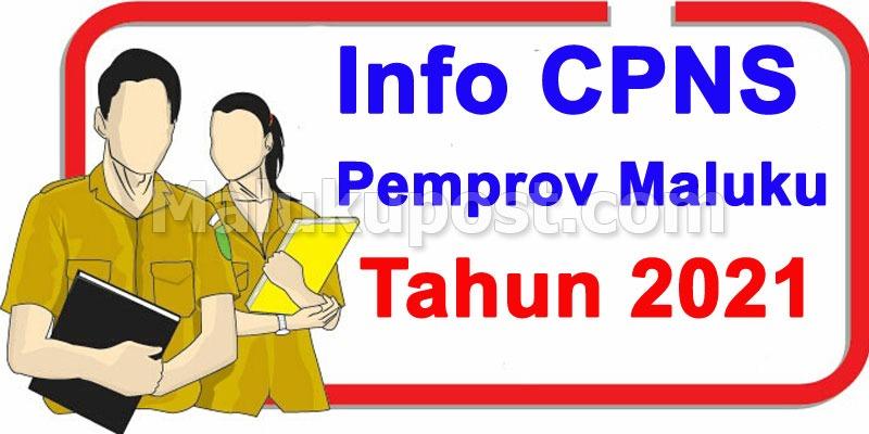 info CPNS Maluku, Info CPNS Maluku tahun 2021