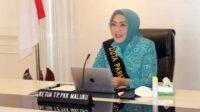 Ketua TP PKK Provinsi Maluku, Widya Pratiwi Murad Ismail