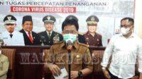 Juru Bicara Satuan Tugas Penanganan Covid-19 Provinsi Maluku, dr Doni Rerung