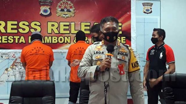 Kapolresta Pulau Ambon dan PP Lease, Kombes Leo Surya Nugraha Simatupang