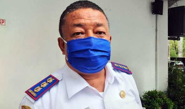 Kepala Dinas Perhubungan Kota Ambon, Robert Sapulette,