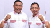 Gubernur Maluku, Murad Ismail dan Wakil Gubernur Maluku, Barnabas. N. Orno