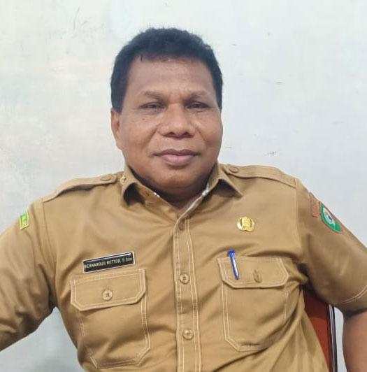 Kepala Bappelitbangda Malra, Bernardus Rettob, SE